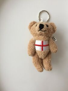 Bear With English Flag Keyring Teadybear - STOKE-ON-TRENT, Staffordshire, United Kingdom - Bear With English Flag Keyring Teadybear - STOKE-ON-TRENT, Staffordshire, United Kingdom