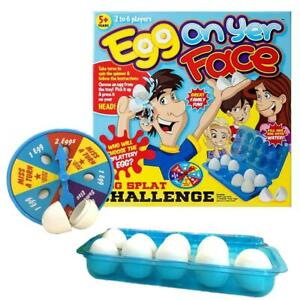 Egg-On-Yer-Your-Face-Fun-Funny-Party-Water-Challenge-Game-Family-Kids-Children