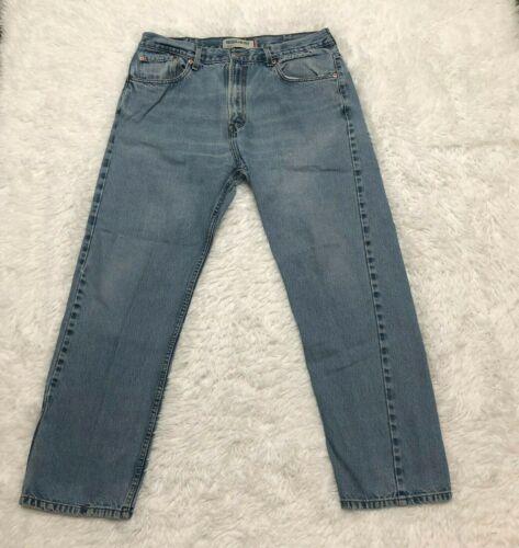 Vintage Levis 505 Jeans Mens 38X32 Blue