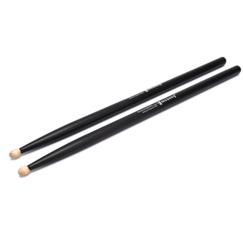 1 Paar Maple Wood Drumsticks 5A 7A Anti-Rutsch-Rack Drumsticks+R