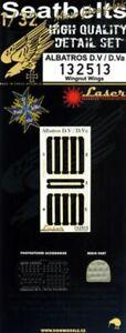 HGW-1-32-Albatros-D-V-D-VA-Siege-Ceintures-amp-Oreiller-Laser-132513