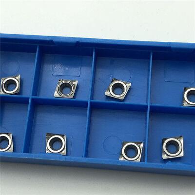 Aluminum CCGT060204-AK H01 CCGT21.51 insert CCMT060204 Lathe blade 10pcs For