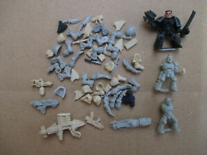 D11C16 LOT BITS SPACE MARINE RTB01 + SCOUT ROGUE TRADER WARHAMMER W40K USED
