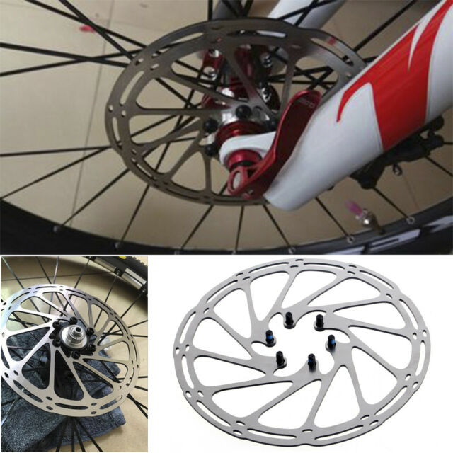 Stainless 180mm 6 Bolts Brake Disc Rotors Road Mountain Bicycle Bike Cycling MTB