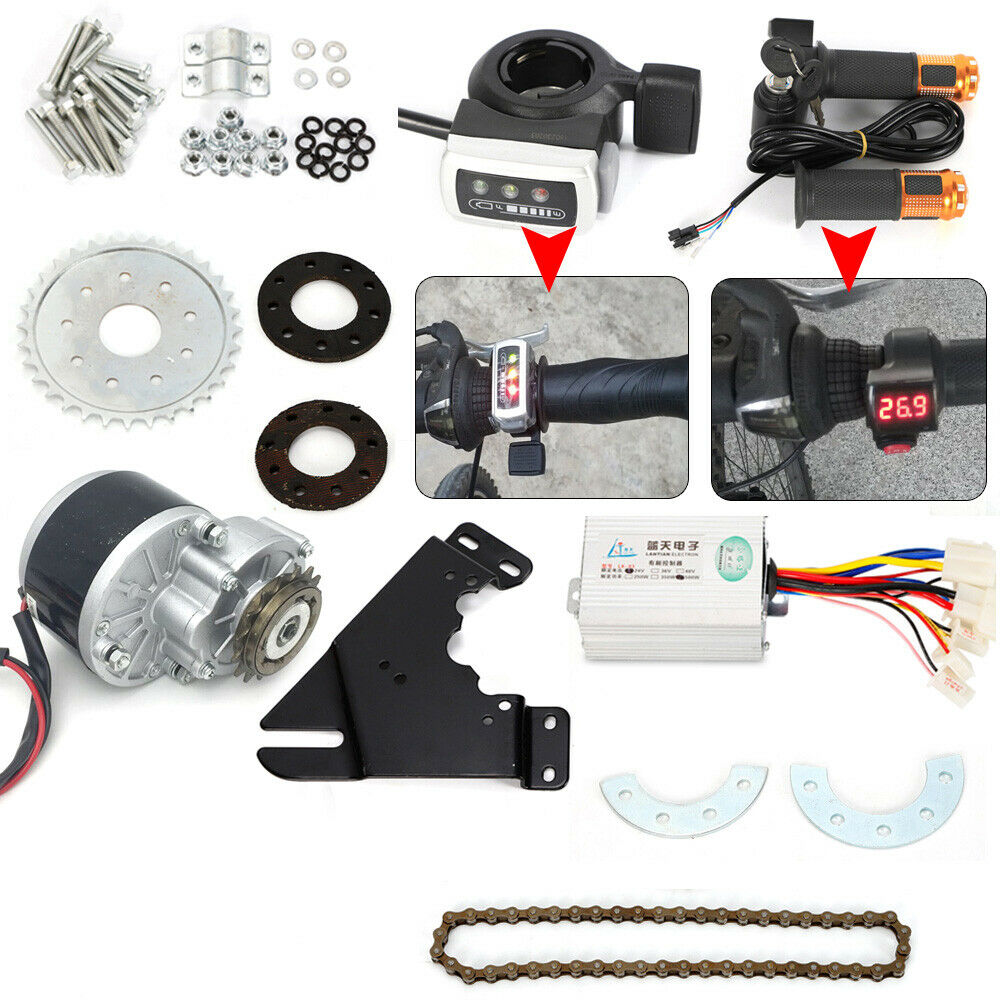 450W 36V Brush Motor Set Freewheel For Electric Bike Twist  Wuxing Thumb Thredtle  order now lowest prices