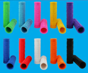 1-Pair-MTB-BMX-Bicycle-Mountain-Bike-Handle-Handlebar-Soft-Rubber-Bar-Grips-End