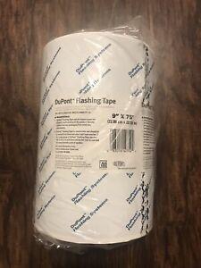 "DuPont Tyvek Flashing Tape 1 Roll 9/"" x 75/'"