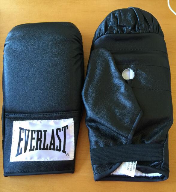 Everlast 4302u Leather Training Bag Gloves Large