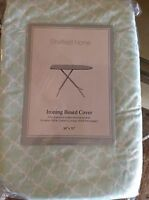 Sheffield Home Ironing Board Cover And Pad Green White Nip
