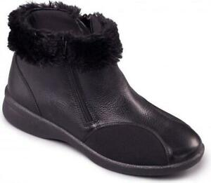 Padders-ADELE-Ladies-Womens-Leather-EEE-EEEE-Extra-Super-Wide-Winter-Boots-Black