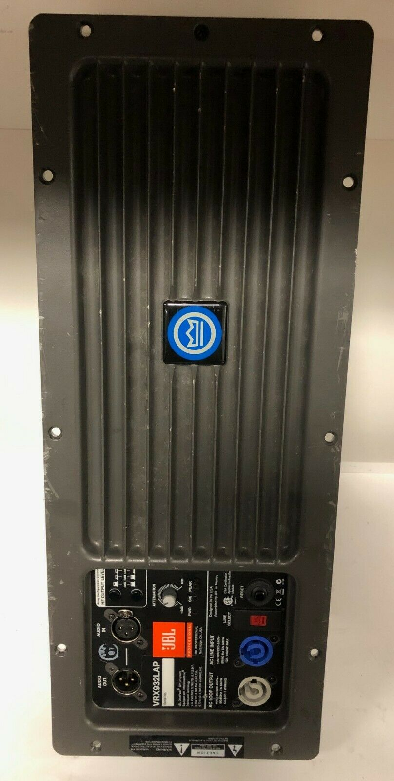 JBL VRX932LAP 1750 WATT POWErot FACTORY REPLACEMENT AMP MODULE (USED)