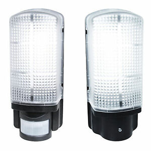 the best attitude 18a40 d2be9 Details about LED Dusk to Dawn Photocell or PIR Sensor Bulkhead Outside  Security Wall Light