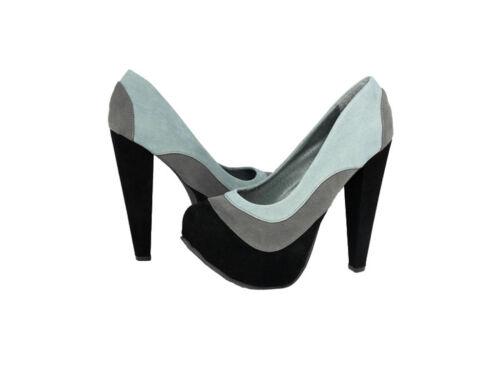 Kiss /& Tell High Heels Pump Black Calida-03-Black