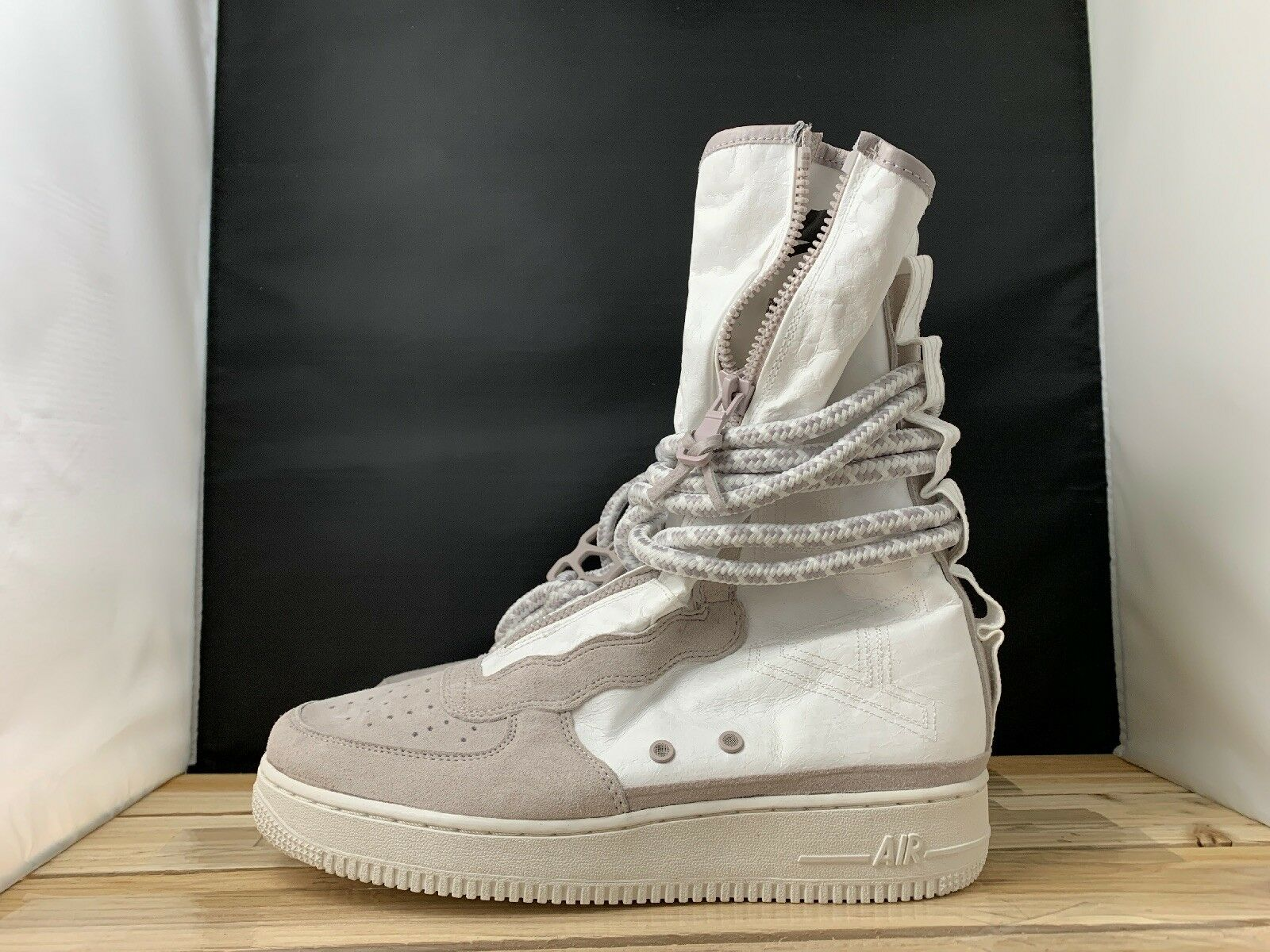 Nike Air Force 1 AF1 SF COMPLEXCON ALL STAR WHITE SPECIAL FIELD AQ0107-001 SZ 9