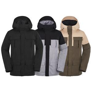 Volcom-alternativo-giacca-isolata-snowboard-da-uomo-sci-sport-invernali-NUOVO
