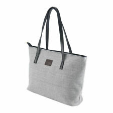 Cream Lee Jeans Fashion Canvas Tote Shopper Bag