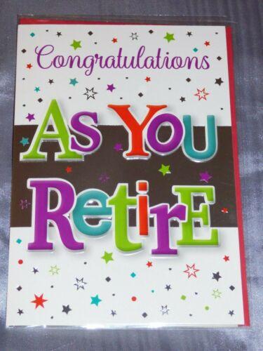Retraite Carte retraite comme vous laisser masculin féminin prend sa retraite plus grand choix sur