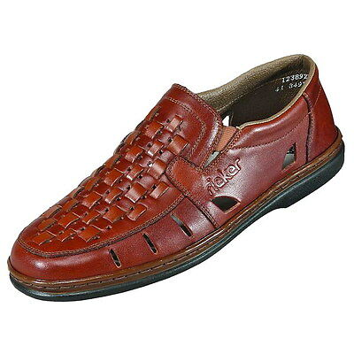 12389 24 Men's Brown Slip On Shoes