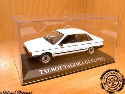 TALBOT TAGORA GLS GL-S WHITE 1981 1:43 MINT!!