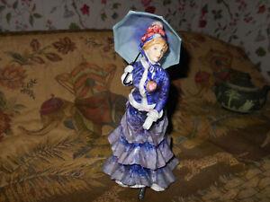Royal-Doulton-Les-Parapluies-HN3473-Bone-China-Figurine-766-of-7-500-Beautiful