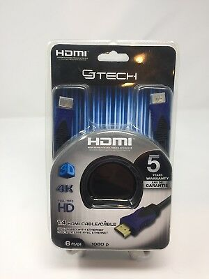 HDMI Cable 4K Round Cable CJ Tech 61853 25 ft