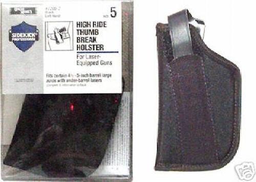 LH Beretta Colt Glock S/&W w//Laser Belt Uncle Mikes Holster SZ 5