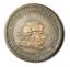 1811-Bristol-Half-Penny-Token-London-Patent-Sheathing-Nail-28mm-Bronze miniatuur 1