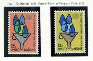 19139-UNITED-NATIONS-New-York-1977-MNH-Nuovi-Water
