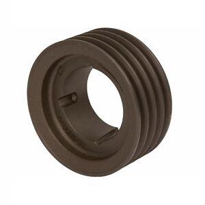 1 Groove SPA118x1 V Vee Belt Pulley Taper Lock 1610-118mm PCD 123.5mm OD