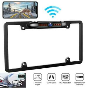 Car Backup Camera License Plate Easy Install