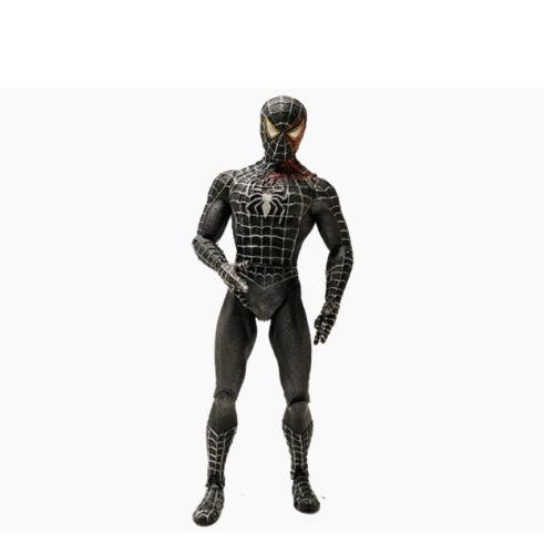 """Marvel Legends Universe Black Costume Spider-man  7/"""" Action Figure Loose Toy"""