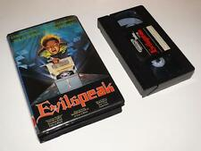 VHS Video ~ Evilspeak ~ Large Case Ex-Rental Pre-Cert ~ VideoSpace ~ DPP 39