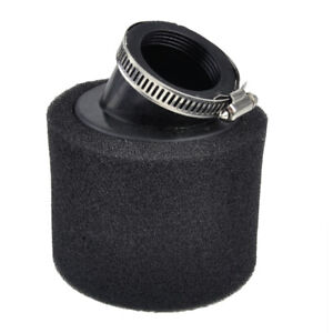 35mm-Foam-Air-Filter-Cleaner-For-50cc-110cc-Pit-Dirt-Bike-Quad-ATV-Buggy-Black