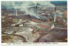 Copper Cliff Smelter, International Nickel Co. Ltd., Sudbury, Ontario