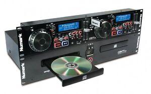 NUMARK-CDN77-USB-DUAL-USB-AND-MP3-CD-PLAYER
