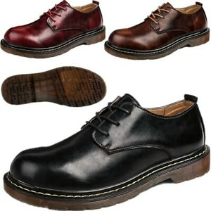 uk men leather brogues wide fit walking smart formal