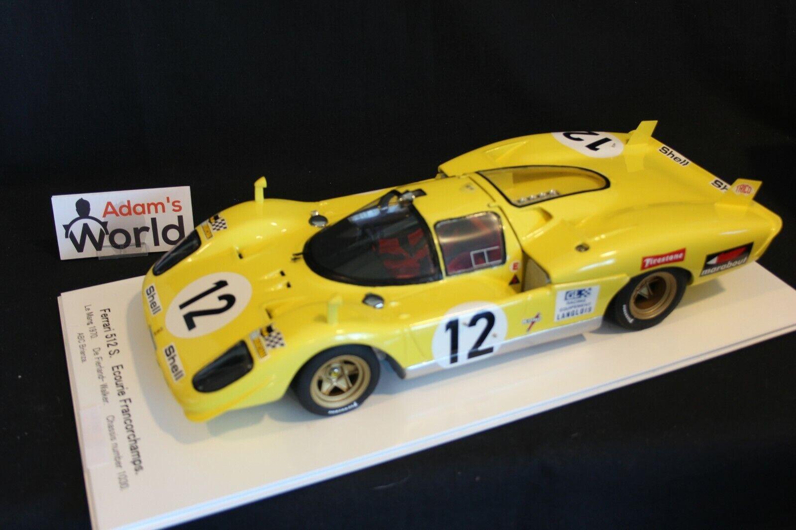 ABC Brianza (built kit resin) Ferrari 512S 1970 1 12 h Le Mans (PJBB)