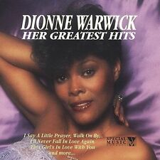 """DIONNE WARWICK """"Her Greatest Hits"""" R&B Soul Music Cassette Tape * 8 Song Tracks"""