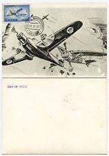 GREECE AIRCRAFT 1968 MAXI CARD FIRST DAY
