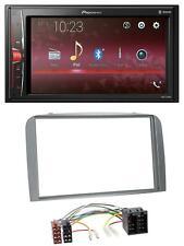 JVC MP3 USB CD 2DIN AUX Autoradio für Alfa Romeo 147 GT 00-10 silber