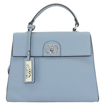Careful Concealed Carry Blue Hemera Purse With Vegan Leather Other Hunting Holsters & Belts