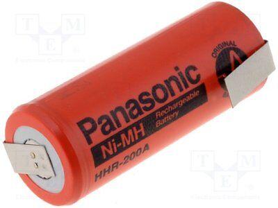 Hohe QualitäT Und Preiswert Ni-mh; 4/5a,4/5r23; 1.2v; 2000mah; ¨17x43mm 1 Pcs Temperamentvoll Re-battery