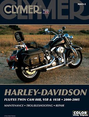 CLYMER REPAIR MANUAL Fits Harley-Davidson FLSTFSE CVO//Screamin Eagle Fat Boy,FL