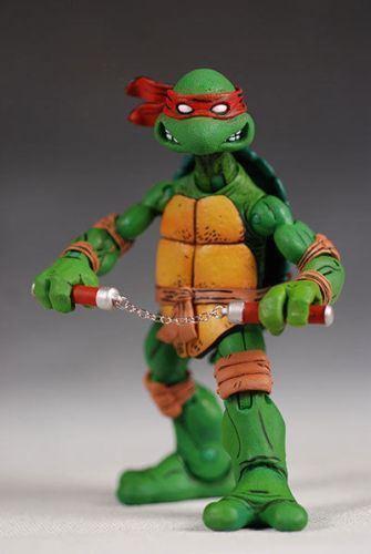 5  NECA Teenage Mutant Mutant Mutant Ninja Turtles Action Figure W Arms Model Collectible Set 25752d