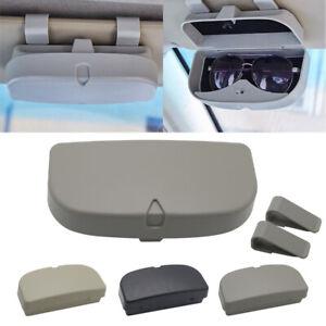 2019 New Gray Car Sunglasses Case Holder Glasses Cage Storage Box for Sunglasses
