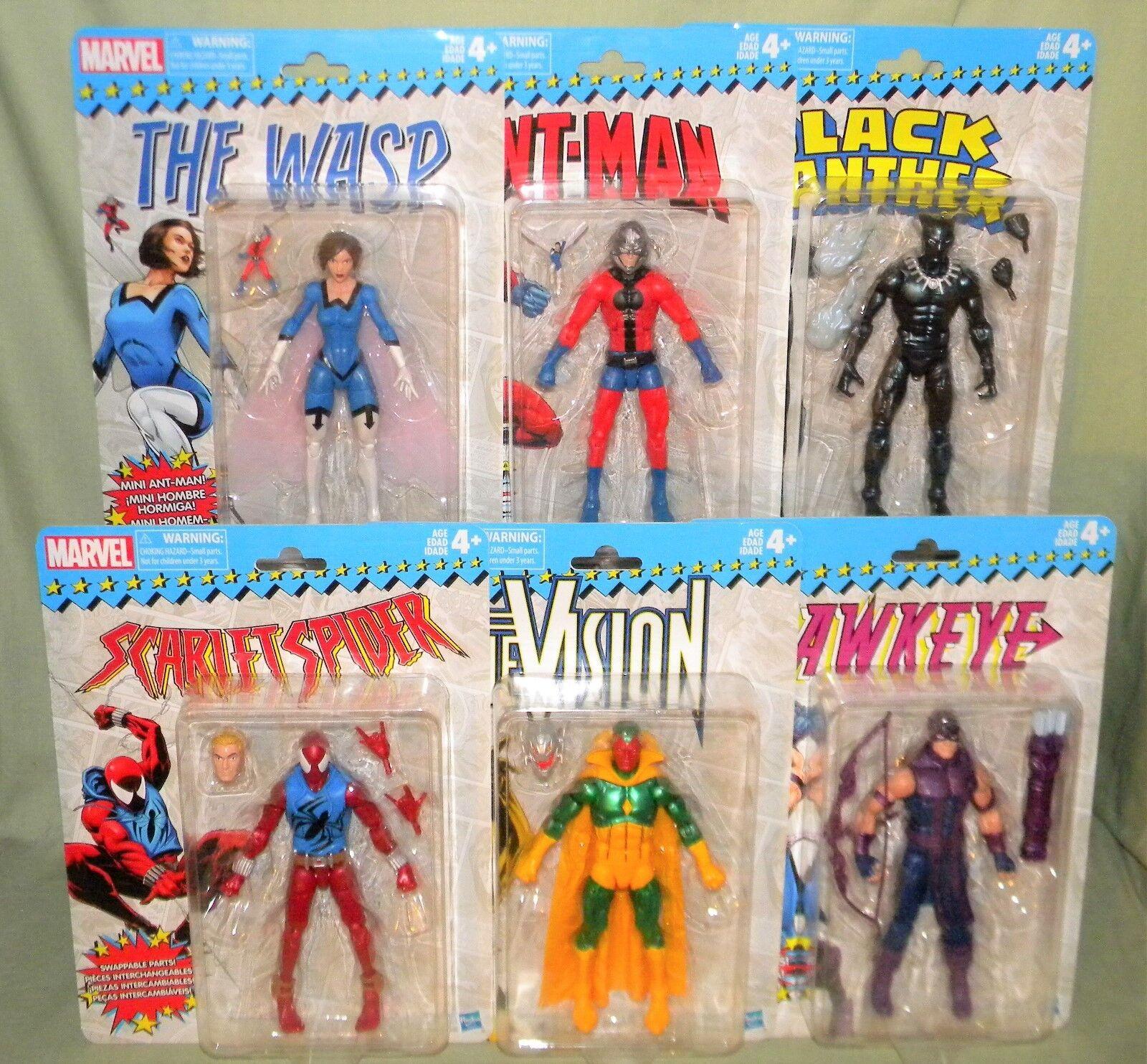 Vision Hawkeye Svoiturelet  Ant-Man WASP panthère noire Marvel Legends vintage 6  2018  60% de réduction