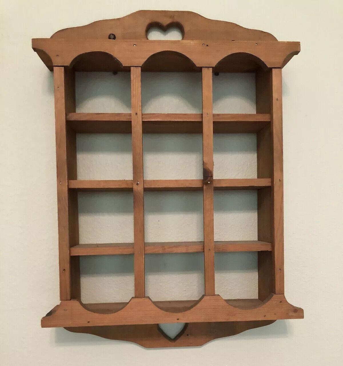 Knick Knack Wall Display Shelf 3 Tier