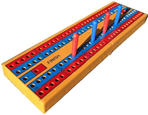 Cribbage Board New with pegs