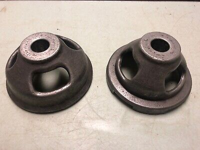 """AMMCO 3109 3123 Hubless Adapter Centering Cone Set for Brake Lathe w// 1/"""" Arbor"""