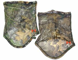 Under Armour UA Hunt Outdoor HeatGear® Full Camo Mesh Face Mask
